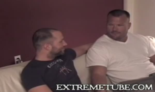 A hunk man wanted to make his dick bigger and massage it5