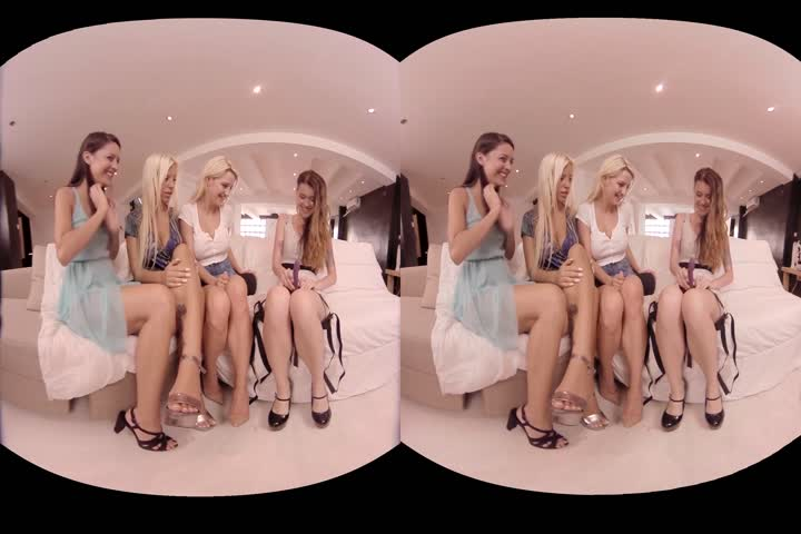 VirtualRealPorn - Orgy with amazing girls in VR