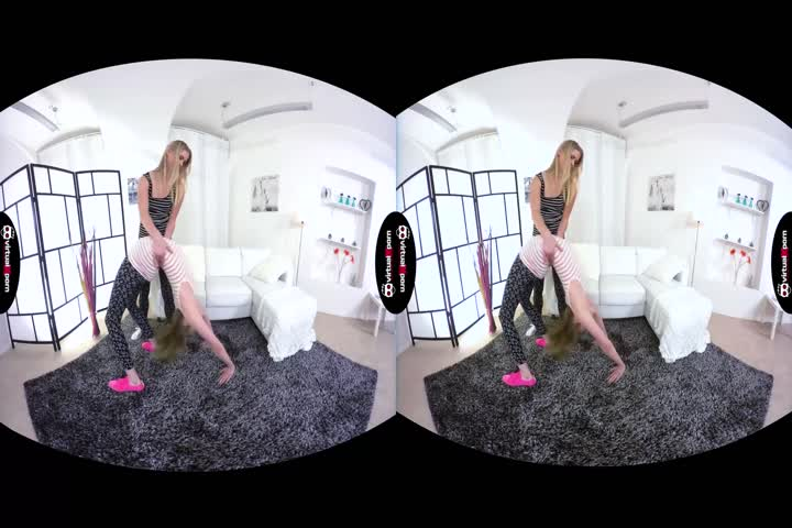 VR Stereoscopic 360 - Tara Morgan and Darcie Dolce's Perfect Natural Ti