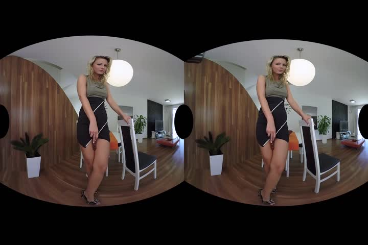 Riley Reid Teases You In Virtual Reality