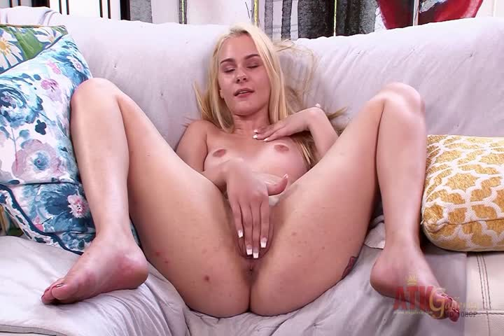 Cute Blonde In Solo Action With Vibrator