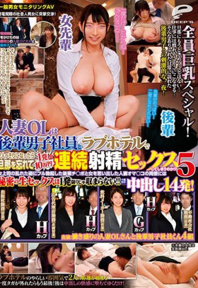 DVDMS-381 The wife OL gets a male colleague to ejaculate continuously! 5 General Male and Female Questionnaire AV