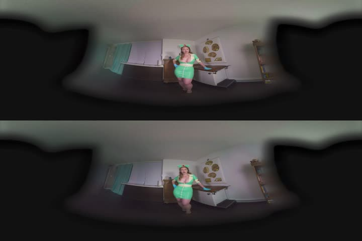 VR sex with busty round ass babe