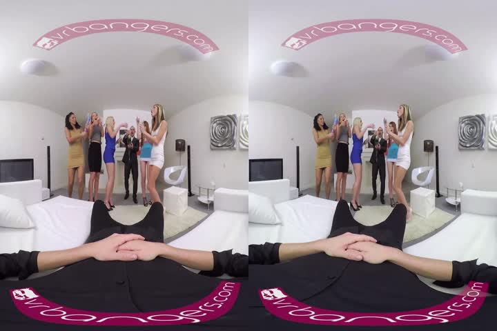 18VR.com Birtay Surprise Threesome By Lesbians Katrin Tequila And Katy Sk7